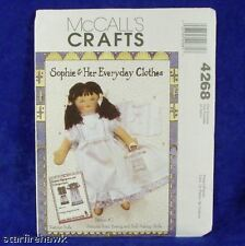 McCall's 4268 Sophie's Tiny Doll & Clothes Pattern #2