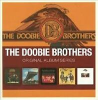 THE DOOBIE BROTHERS 5CD NEW Toulouse St/Captain/What Were Once/Stampede/Takin'