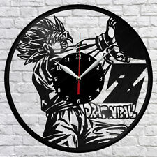 Dragon ball Vinyl Record Wall Clock Decor Fan Art Original Gift Handmade 1521