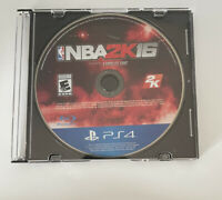 NBA 2K16 (Sony PlayStation 4, 2015) Disc Only