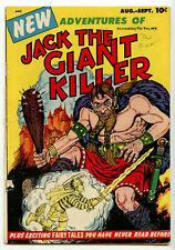 Adventures of Jack the Giant Killer G/VG 3.0 Aug-Sept 1953 Golden Age Comic