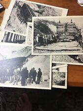 More details for ❤️9 postcards facist benito mussolini colonna transportation patriotic military