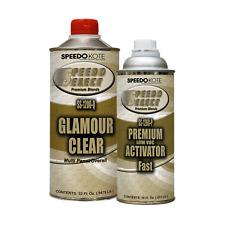 Ultra High Gloss 2.1 voc Clear Coat, 2:1 Clearcoat 48 oz. Fast Kit, SS-1200/60-Q