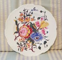 "COALPORT Porcelain China - POSYDALE Floral Pattern #9271- 10"" DINNER PLATE"