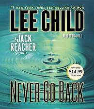 Never Go Back: A Jack Reacher Novel by Lee Child (CD-Audio, 2014)