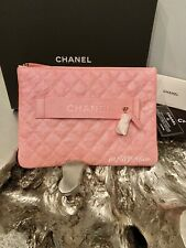 82b519d72da8 CHANEL 19S IRIDESCENT PINK CAVIAR MINI O-CASE SMALL MED PEARLY CC NIGHT BY  THE