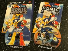 PLAYSTATION 2 PS2 BUNDLE SONIC GEMS COLLECTION (R CD FIGHTERS DRIFT) + HEROES