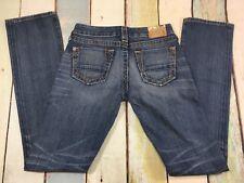 True Religion Womens Johnny Straight Leg Jeans 27 x 33 Flawless #J2