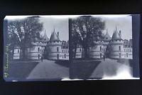 Château Da Chaumont Francia Foto Stereo Negativo Su Film Morbido 1913