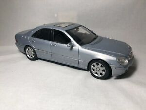 Maisto 1998 Mercedes-Benz S-Class Sedan 1:18 Diecast