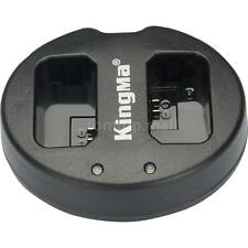 KingMa Dual 2-Channel NP-FW50 Battery Charger for SONY A5000 NEX6 5T DSLR Camera