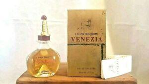 Venezia Laura Biagiotti EDT (eau de toilette SPLASH) 50ml. Vintage formula.