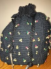 Crochetknit Drawstring Vintage Bags Handbags Cases For Sale Ebay