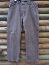 Wrangler Men's Grey Brown Jeans Size 26 30 Measured Waist 36