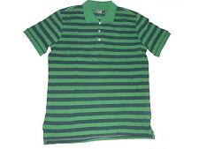 NEU Livergy tolles Poloshirt Gr. M 48 / 50 grün-blau gestreift !!