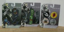 Halo 3 Mini Pin Set Bundle Small Large Weapons Guns Master Chief Scorpions