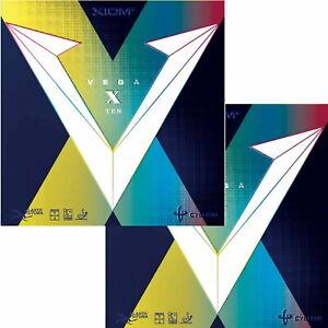 Xiom Vega X / DOPPELPACK / Tischtennisbelag / zum Sonderpreis