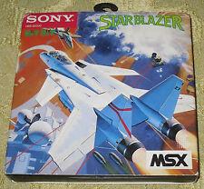 STAR BLAZER  GIOCO MSX