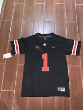 Justin Fields Jersey Ohio State Buckeyes Black Size - Small
