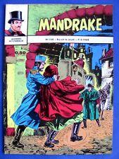 Mandrake  Monde Mysterieux N°154 Edition de Remparts