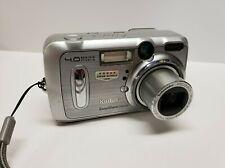 Kodak EasyShare Dx6440 4.0Mp Zoom Digital Camera Silver w Strap - Repair/Parts