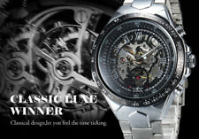 Montre Mécanique Automatique Fashion Top Marque Winner Original homme PROMO