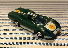 Vintage 1960's Ideal MINI MOTORIFIC PORSCHE 907 Green Racing Car with Motor