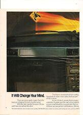 ORIGINAL VINTAGE 1982 MITSUBISHI SCORPION AUSTRALIAN 2 PAGE COLOR ADVERT
