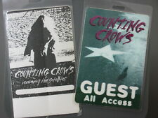 Counting Crows backstage passes Two Laminated Authentic !