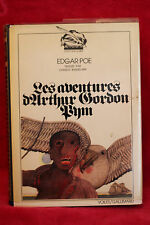 Aventures d'arthur gordon pym - Edgar Allen Poe - 1977