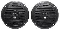 """Pair Rockville MS525B 5.25"""" 400 Watt Waterproof Marine Boat Speakers 2-Way Black"""