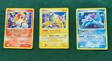 Holo Pokemon Card ENTEI 4/132, SUICUNE 19/132, RAIKOU 16/132