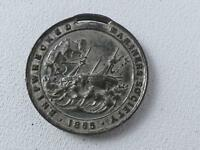 (ref165FC 68) Shipwrecked Mariners Society Medal 1865 Nelson Profile