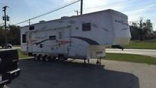2006 cross terrain toy hauler project camper rv salvage 5th wheel 2 slides