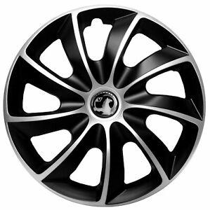 17'' Wheel trims for Vauxhall Vivaro Astra Insignia  - black/silver