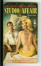STUDIO AFFAIR by Wood, rare US Beacon #B189 sleaze gga pulp vintage pb