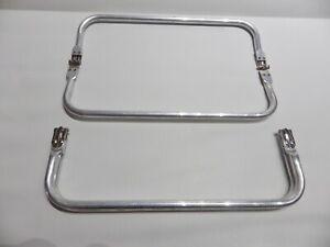 "1 x 16"" Tubular Gladstone Type Bag Frame Bag Handbag Making Frames Hardware"