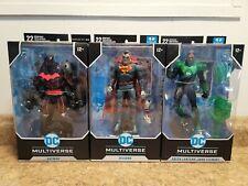 Mcfarlane Dc Multiverse Batman Lot - Hellbat,  bizarro,  green lantern John Stew