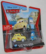 Disney PIXAR Cars 2 RACE TEAM LUIGI & RACE TEAM GUIDO #10/11