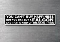Buy a Falcon sticker quality 7 year water & fade proof vinyl ford