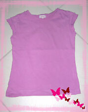 T.shirt TEX KIDS 4 – 5 ans lilas manches avec petits volants 100% coton