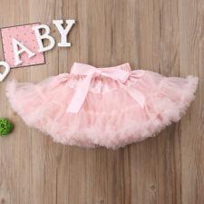 Kids Baby Girl Princess Party Ballet Dancewear Tulle Tutu Skirt Dress Pettiskirt