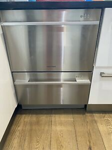 Fisher and Paykel Dishwasher Double Drawer