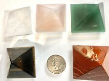 "Wholesale Lot 5 Pcs 2"" Pyramid Mix Crystal Natural Energy"