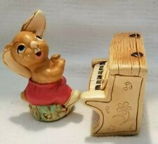 "Pendelfin Studios Rabbit ""The Thumper� and Piano Made in England"