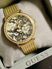 GUESS W0822L2 Willow Armbanduhr Damenuhr Gold Neu OVP mit Box
