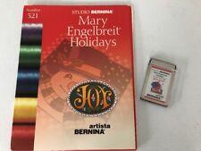 Studio Bernina Embroidery Designs Card #521 Holidays Mary Engelbreit