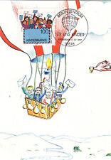 Fesselballon mit Kindern  Maxik.  BRD 1997