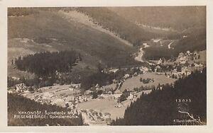 Ansichtskarte Schlesien  Riesengebirge  Spindlermühle