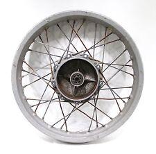 1977 77 Husqvarna 125 CR 125CR OEM Rear Wheel Rim Hub Akront Leleu 18 X 2.15